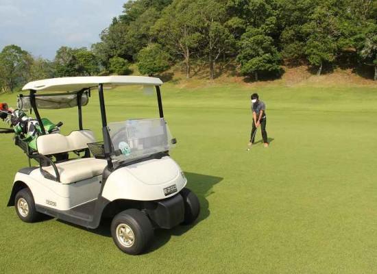 暑い夏でも京和ならゴルフができます!