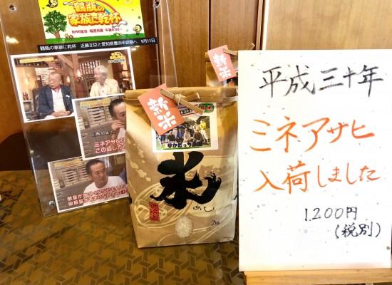 愛知県の特産品「ミネアサヒ」のご紹介