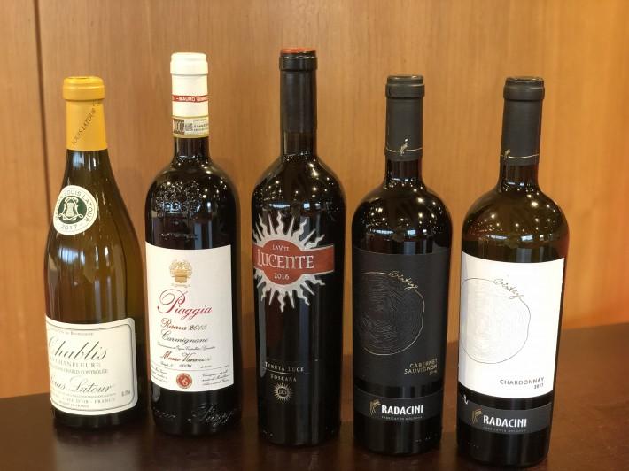 おすすめのワインをご紹介します!